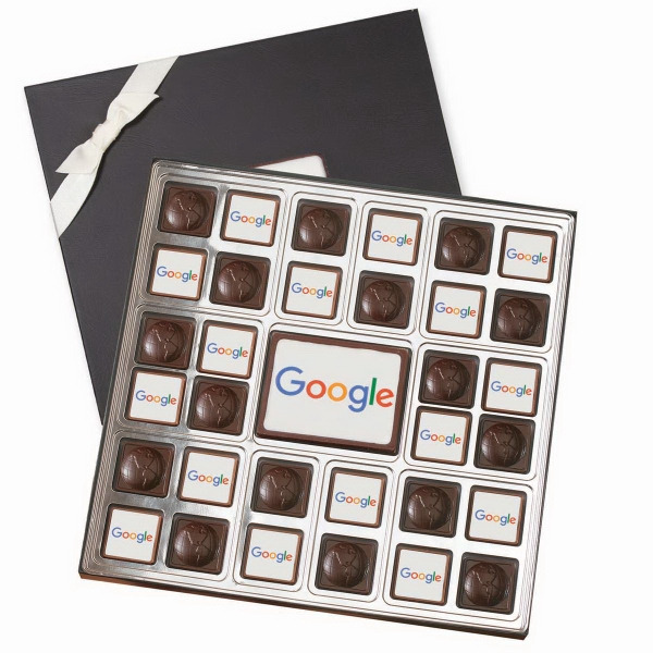 Luxe Large Chocolate Squares Gift Box