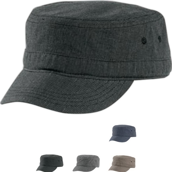 District® Houndstooth Military Hat