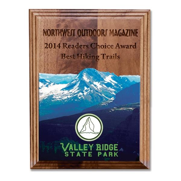 Walnut Wall Plaque