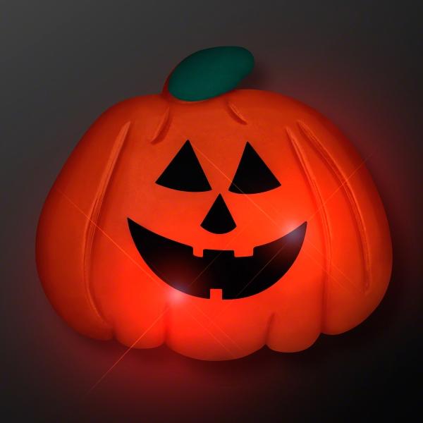 Jack o' Lantern Blinky Pumpkin Pin
