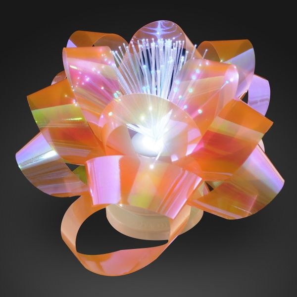Light up gift bow