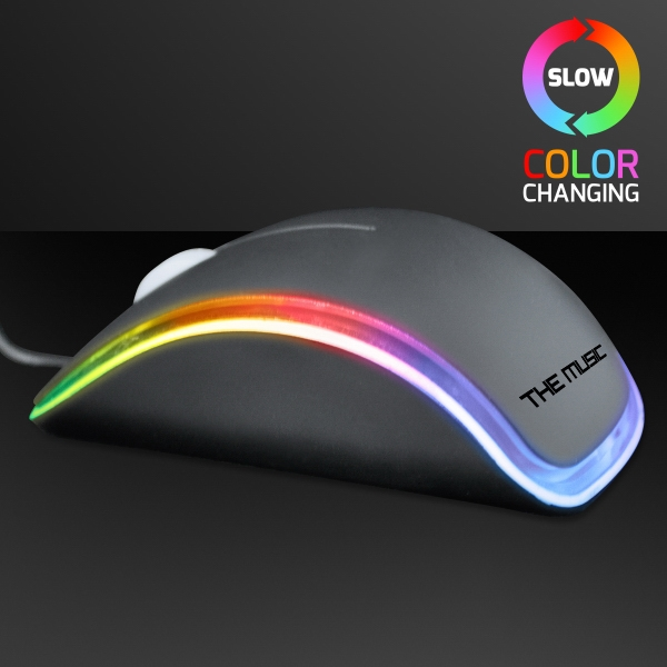 LED Color Changing Computer Mouse