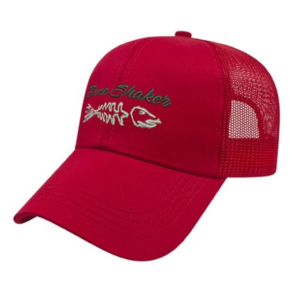 Solid Mesh Back Cap