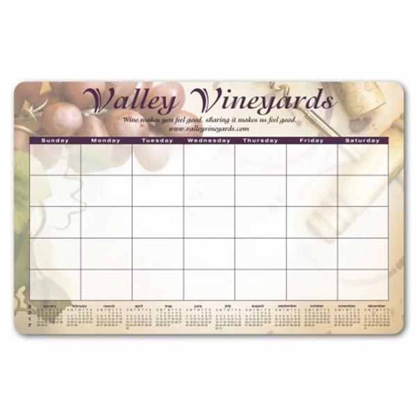 Ultra-thin Counter Mat/Wall Calendars