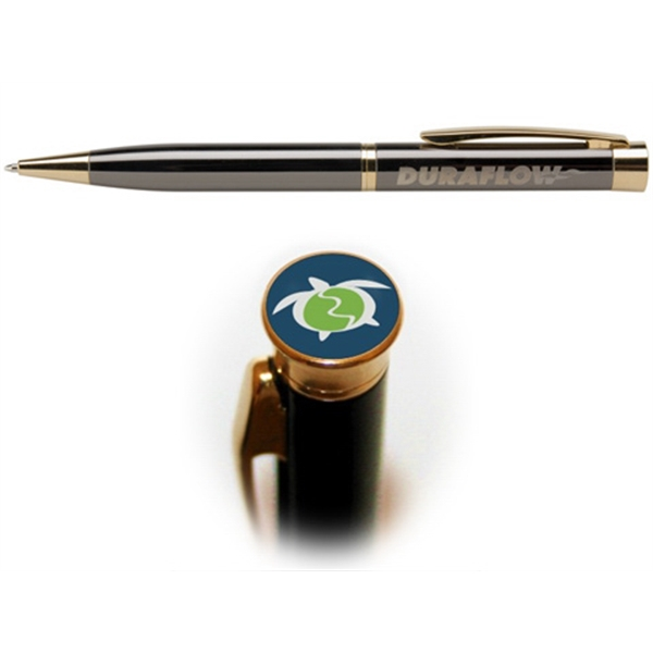982  Amesbury™ Gunmetal Photo Dome Pen