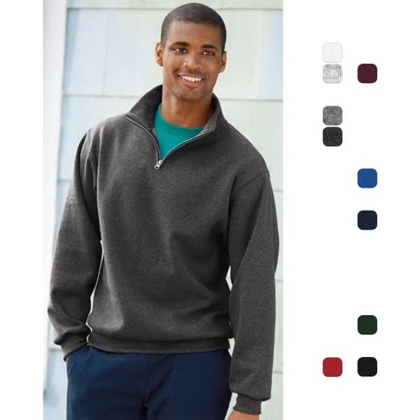 Jerzees® 1/4-Zip Cadet Collar Sweatshirt
