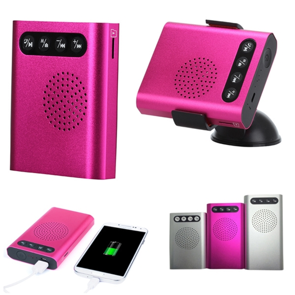 Wireless Speaker Power Bank