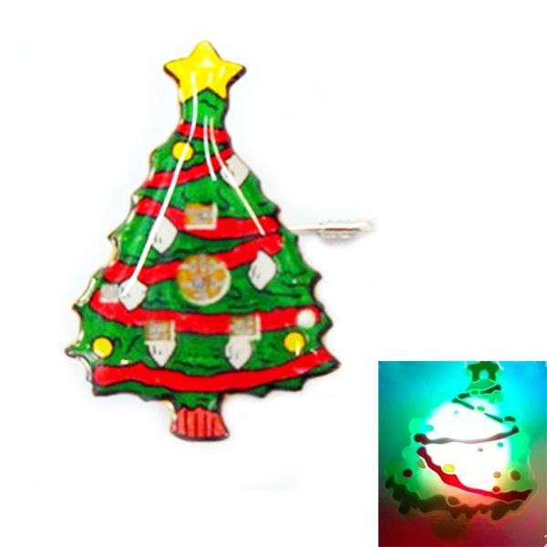 LED Christmas Tree Pin