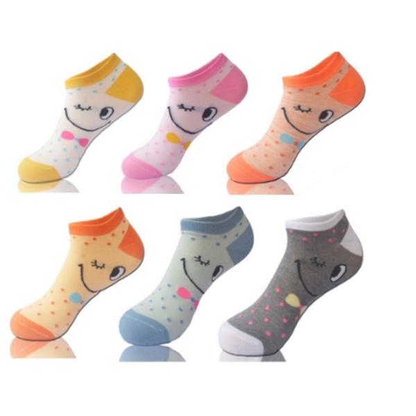 Cotton Sock,Colorful Dress Sock,Ankle Sock,Girl's Short So