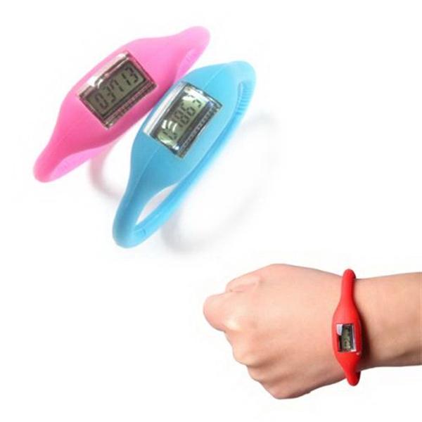 Mini Bracelet Pedometer Watch