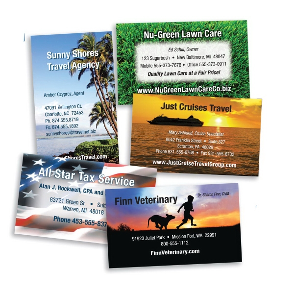 4-Color Process Digital Business Cards