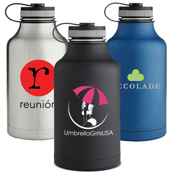 64 Oz. Finish Insulated Stainless Steel Growler