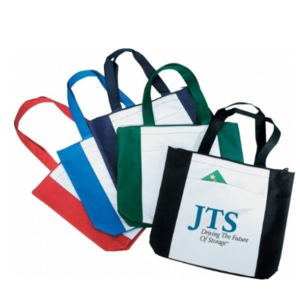Polyester Shopping Tote With Gusset 16-1
