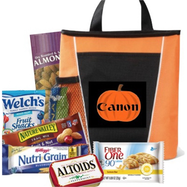 Halloween Healthy Snack Tote