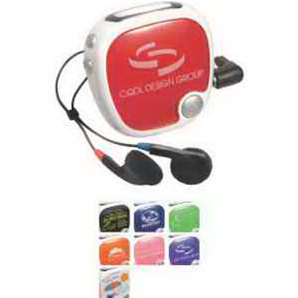 Walk N' Roll Radio Pedometer