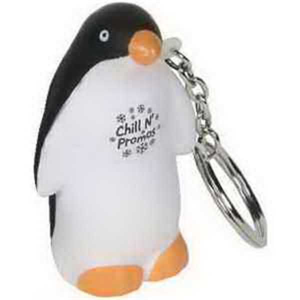 Penguin Key Chain Stress Reliever