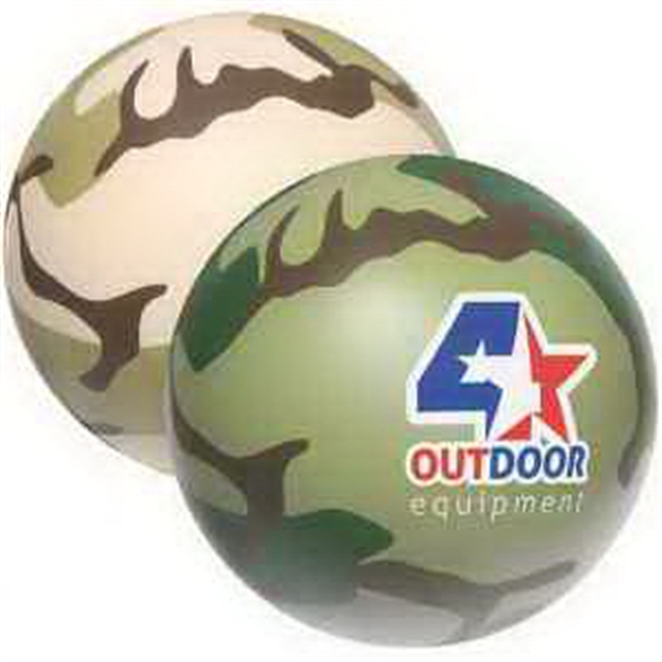 Camouflage Stress Ball Stress Reliever