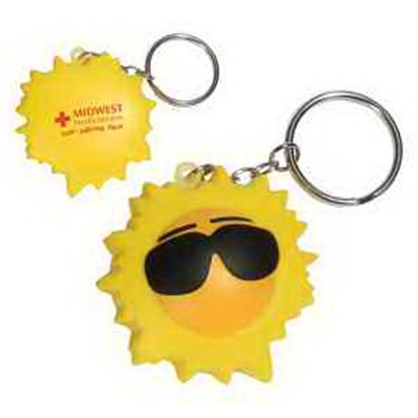 Cool sun key chain