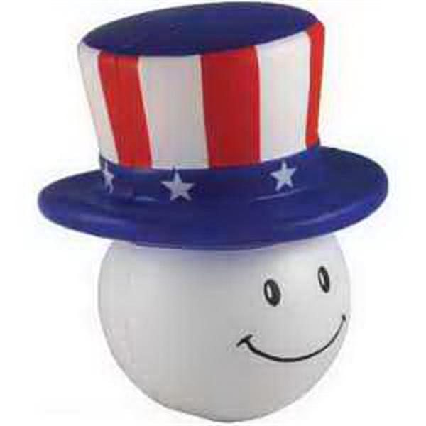 Patriotic Mad Cap Stress reliever
