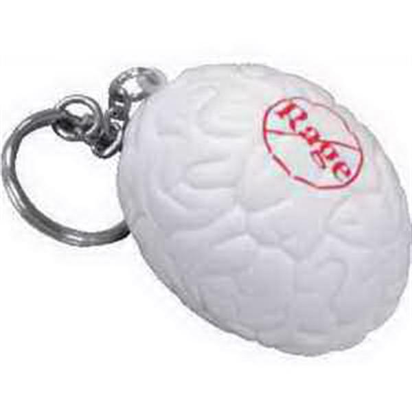 Brain Key Chain Stress Reliever