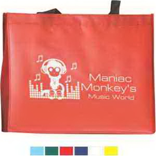 Raindance Water Resistant Coated Tote Bag