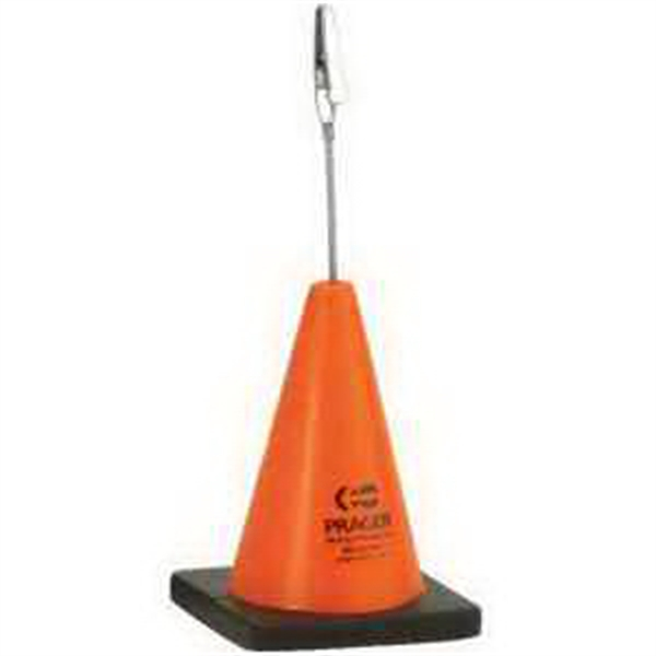 Construction Cone Memo Holder Stress Reliever
