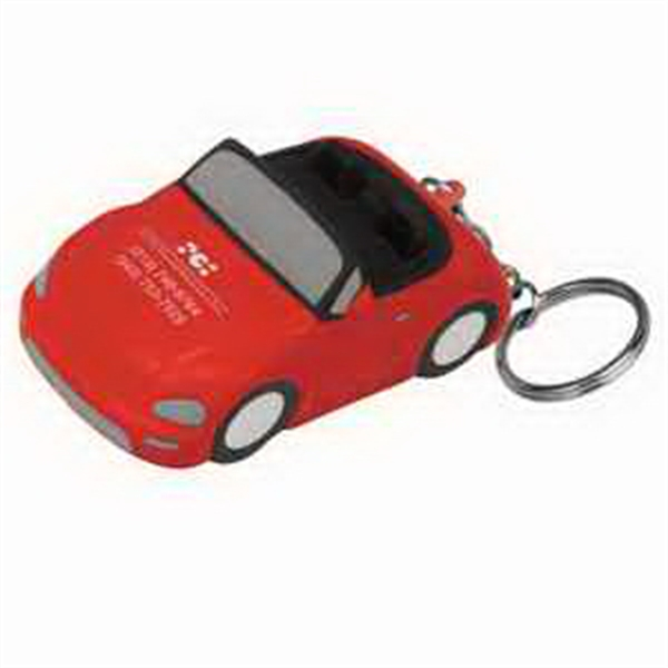 Convertible Car Key Chain Stress Reliever