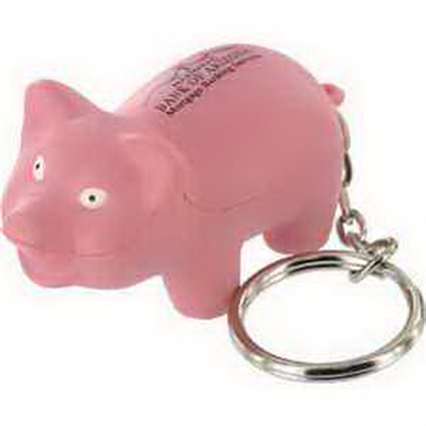 Farm Animal Key Chain Stress Reliever