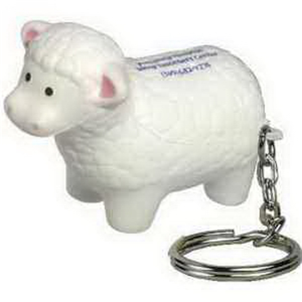Sheep Key Chain Stress Reliever