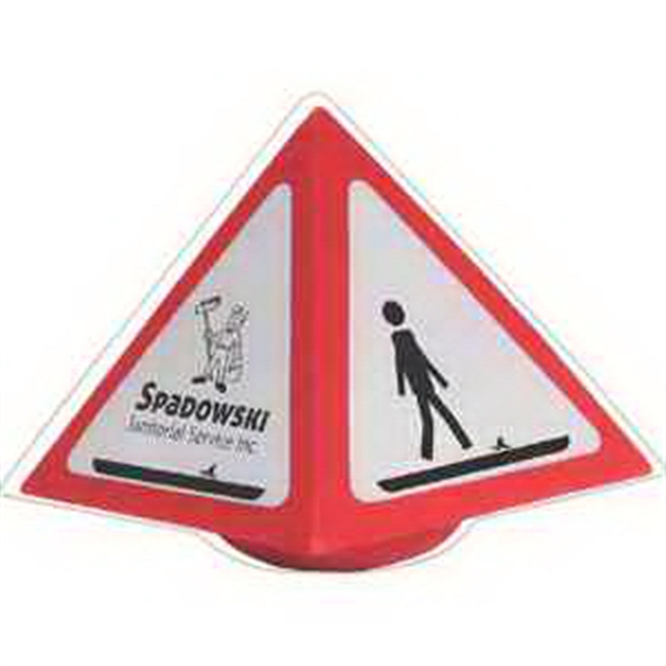 Warning Sign Wobbler