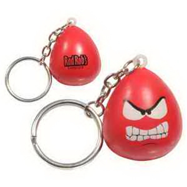 Mood Maniac- Angry Key Chain Stress Reliever