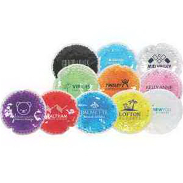 Round Aqua Pearls Hot/Cold Pack (FDA Approved & Passed TRA)