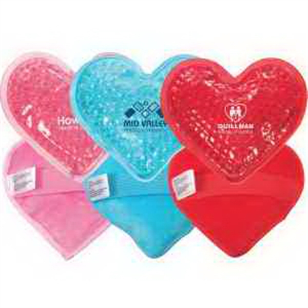 Plush Heart Hot/Cold Pack (FDA approved, Passed TRA test)