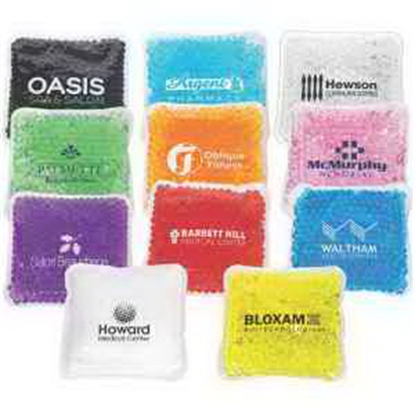 Square Aqua Pearls Hot/Cold Pack(FDA approved, Pass TRA test