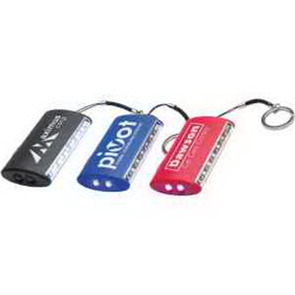Dual LED Light Key Chain