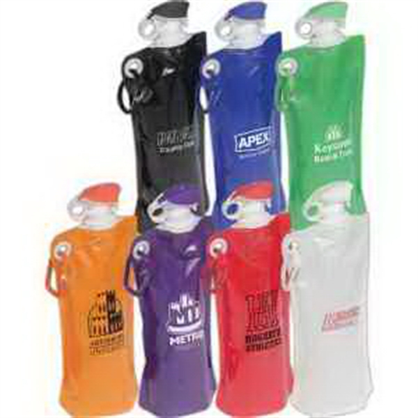 Flip Top Folding Water Bottle