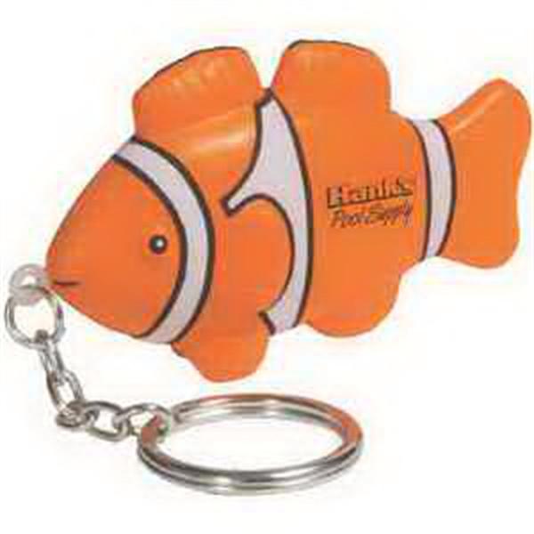 Clownfish Key Chain Stress Reliever