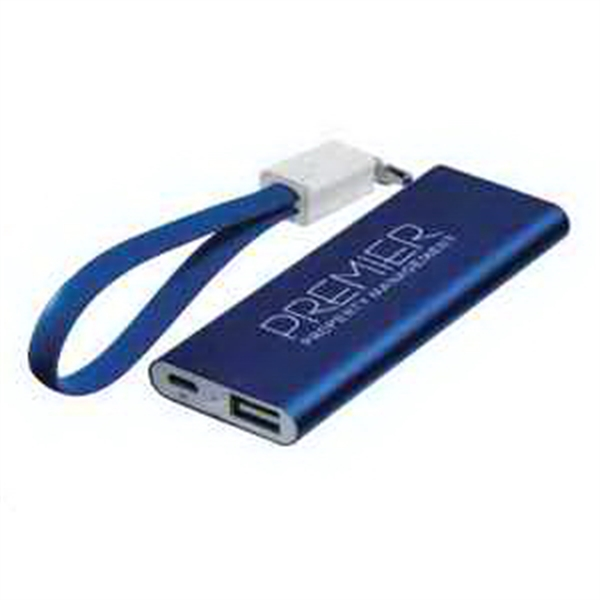 Ready To Go Power Bank with Cable