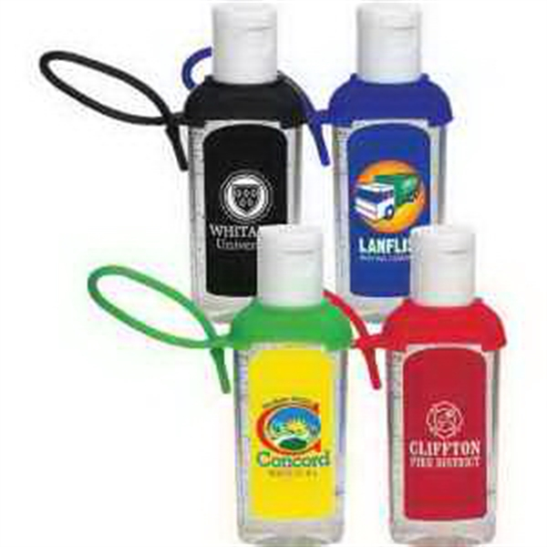 Caddy Strap Two Ounce Moisture Bead Hand Sanitizer