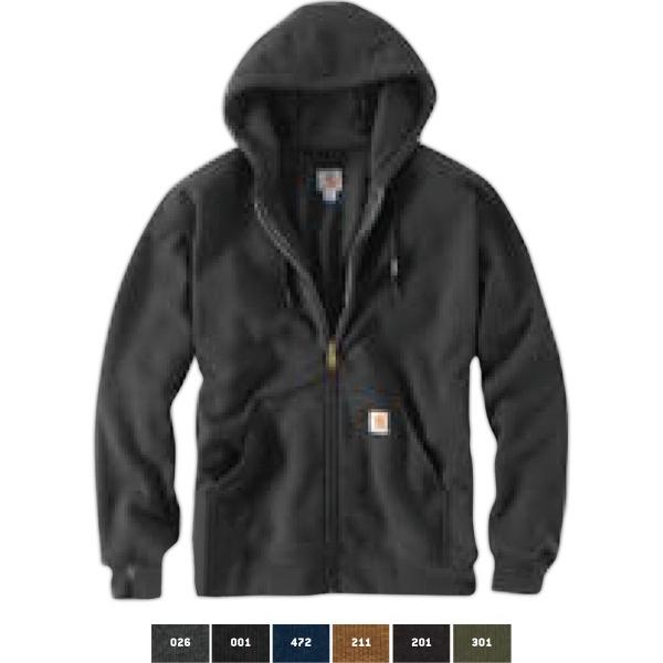 Rutland Thermal Lined Hooded Zip Front Sweatshirt