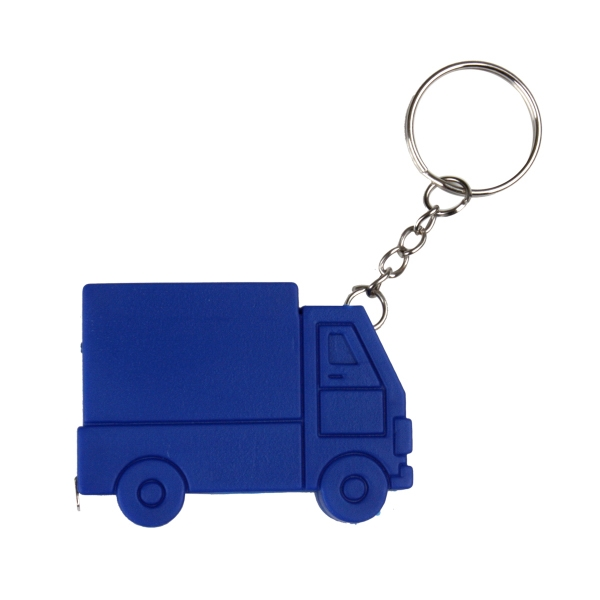 3' Truck Tape Measure W/Key Chain