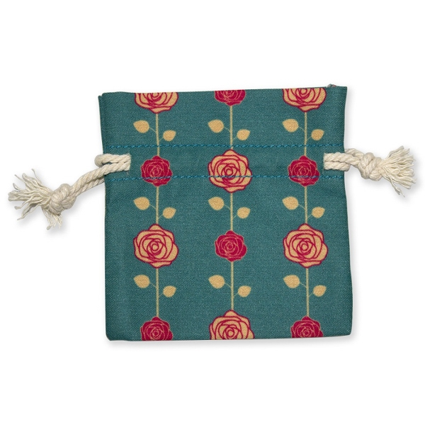 "Drawstring Cotton Bag 3.34"" x 3.54"""