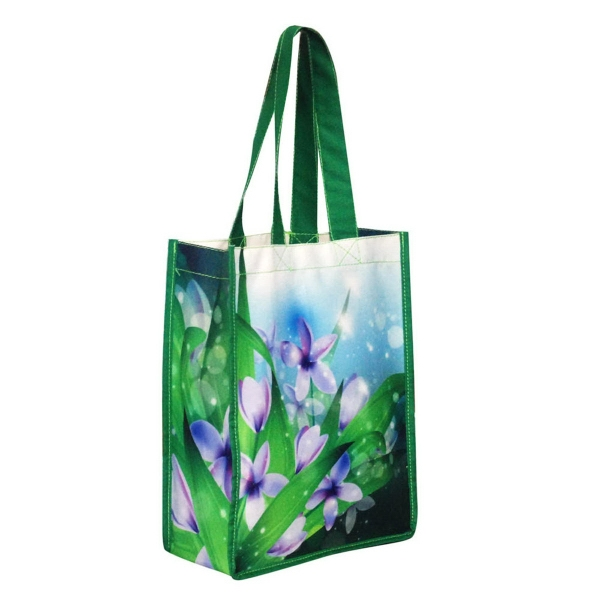 "Cotton Tote Bag 8"" x 4"" x 10"""