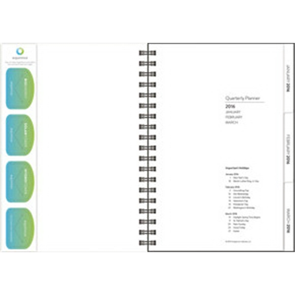 Tabbed Quarterly - Page Saver