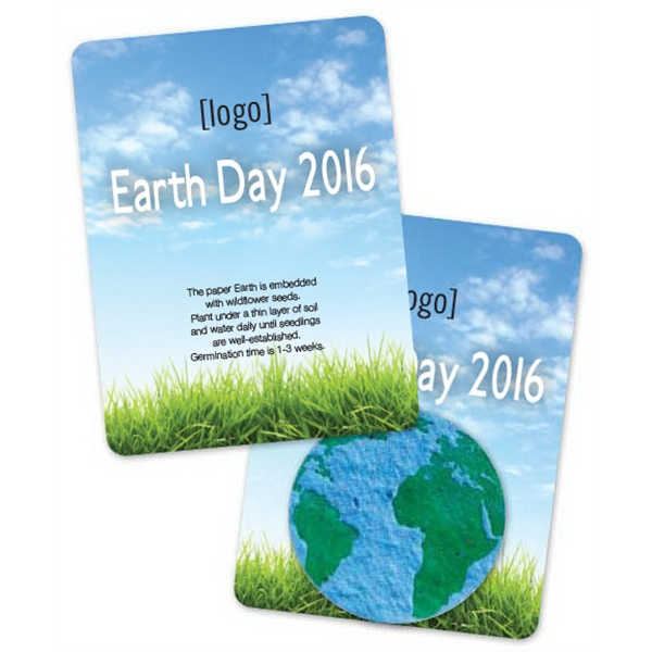 Earth Day Mini Gift Pack With Seed Paper