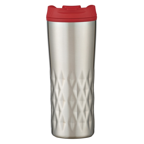 16 oz. Stainless Steel Diamond Tumbler
