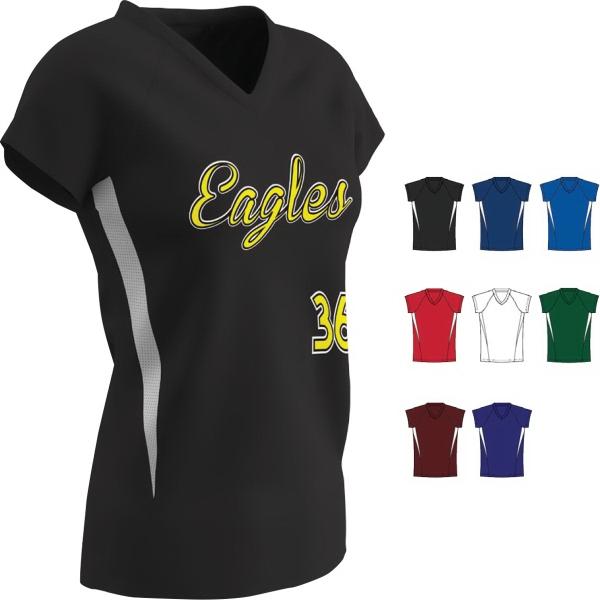 Women's Stock Spike Softball Jersey