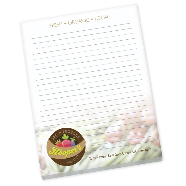 "8.5"" x 11"" Non-Adhesive Scratch Pad"