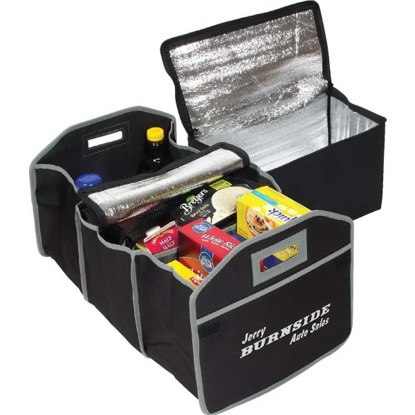 Cargo Organizer with Cooler Bag