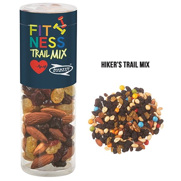 Healthy Snack Tube With Hiker's Trail Mix (Small)